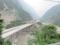 G213(G317)の高速化(都汶高速)の工事(中国四川省アバ自治州汶川県)