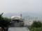 仁王山(左),北岳山(右),北漢山(奥)(韓国ソウル特別市)