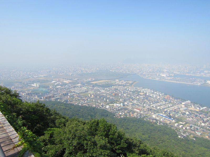 高松平野,屋島獅子の霊巌展望台より(香川県高松市)