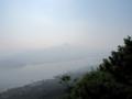 五剣山,屋島遊鶴亭より(香川県高松市)