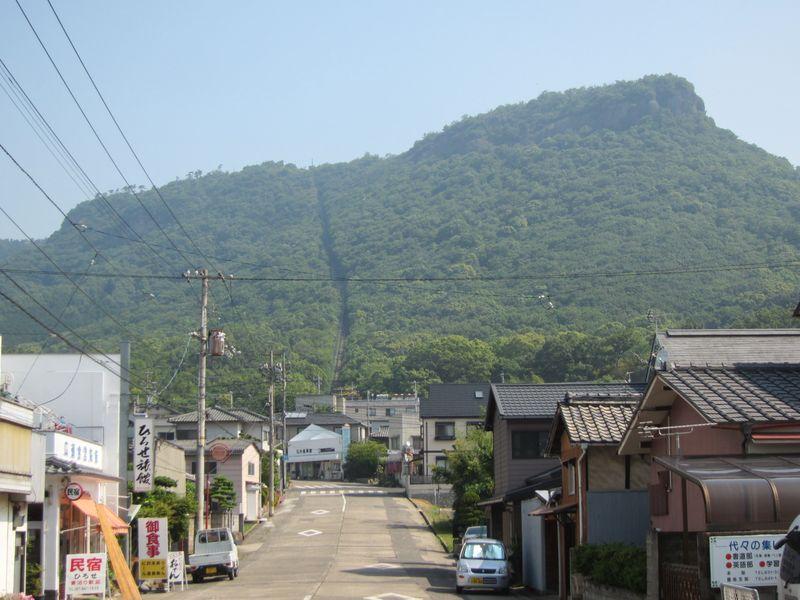 屋島ケーブル廃線跡(香川県高松市)