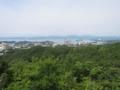 平草原展望台からの眺め(和歌山県西牟婁郡白浜町)