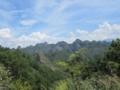 八角寨風景区の遠景(中国広西チワン族自治区桂林市資源県)