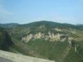 G75蘭海高速(貴陽~重慶区間)の地形(中国重慶市綦江区)