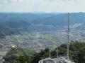 五老スカイタワー展望台からの風景,西舞鶴市街(京都府舞鶴市)