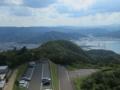 五老スカイタワー展望台からの風景,舞鶴西港(京都府舞鶴市)