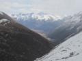 雀児山峠からの風景(中国四川省甘孜自治州徳格県)