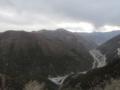 高尔寺山峠越えのG318,標高4400m(中国四川省甘孜州雅江県)