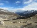 折多山峠越えのG318,標高4300m(中国四川省甘孜州康定県)