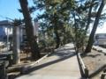 羽衣の松への遊歩道(静岡県静岡市清水区)