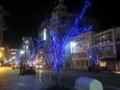 神戸花時計線のイルミネーション(兵庫県神戸市中央区)