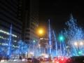 OSAKA光のルネサンス,水都ブルー(大阪市中央区)