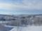 美瑛パノラマロードの冬景色,夕張山地(奥)(北海道上川郡美瑛町)