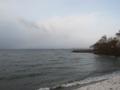 琵琶湖東岸(滋賀県)