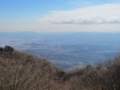 葛城山からの展望,奈良盆地(奈良県)