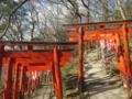 信貴山山頂への参道(奈良県生駒郡平群町)