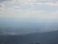 信貴山山頂からの展望,竜門山地(奈良県)