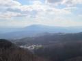 信貴山山頂からの展望,金剛山地(奈良県)