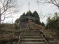 高安山駅傍の展望台(大阪府八尾市郡川)
