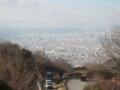 信貴生駒スカイラインの十三峠から(大阪府)