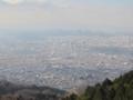 鐘の鳴る展望台からの大阪平野(大阪府)