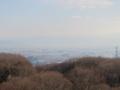 鐘の鳴る展望台からの奈良盆地(奈良県)