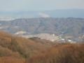 鐘の鳴る展望台からの平群谷(奈良県)
