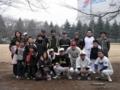 結成後3度目の練習 初期メンバー全員集合☆ in新十余二野球場