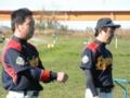 高橋友選手&中西選手