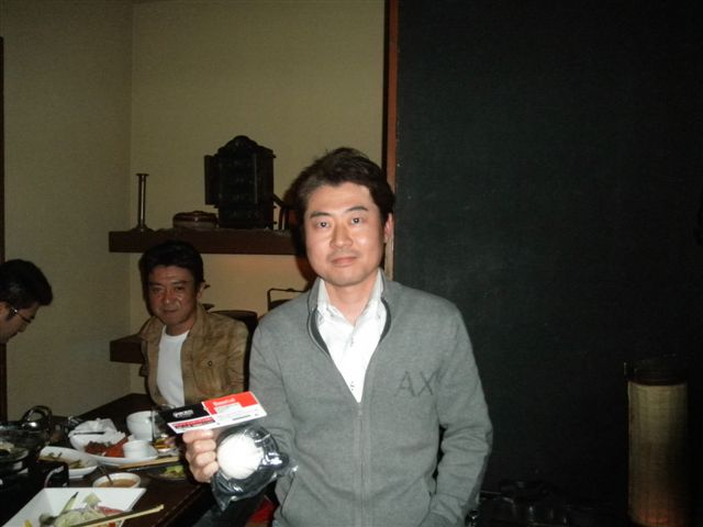 ゴールデングラブ賞の宮木選手☆