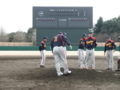 2012年紅白戦 in県立柏の葉公園野球場