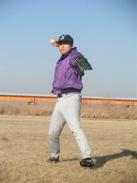 自主トレ 大野選手