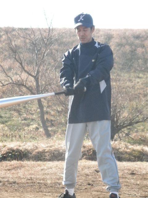 自主トレ 高橋健選手