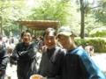 左から宇戸選手、遅刻の大野選手、高橋健選手