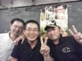 金子監督&宇戸選手&馬籠代表
