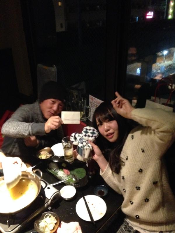 たっくんがBB賞の山口選手、浅野マネ・勝利の女神賞!