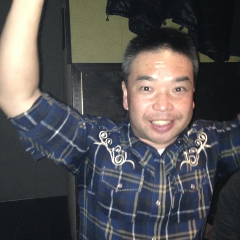 宴会部長の高橋友選手!