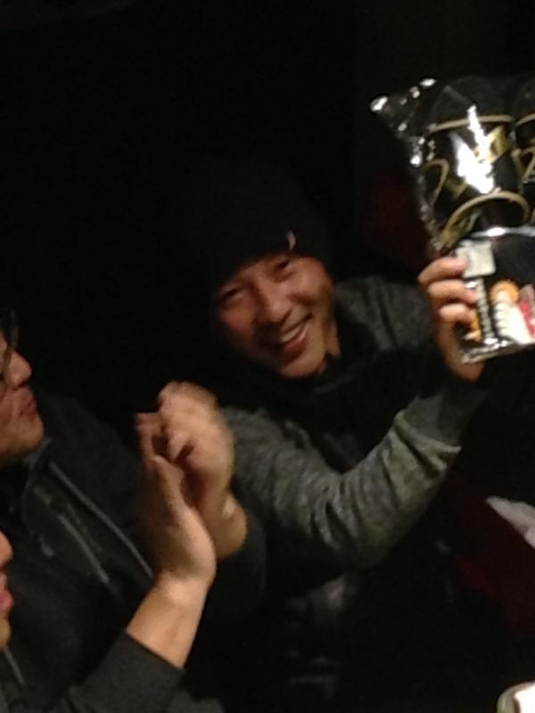 敢闘賞!山口選手