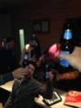 2次会スタート!乾杯!!ところで何ビールだった?