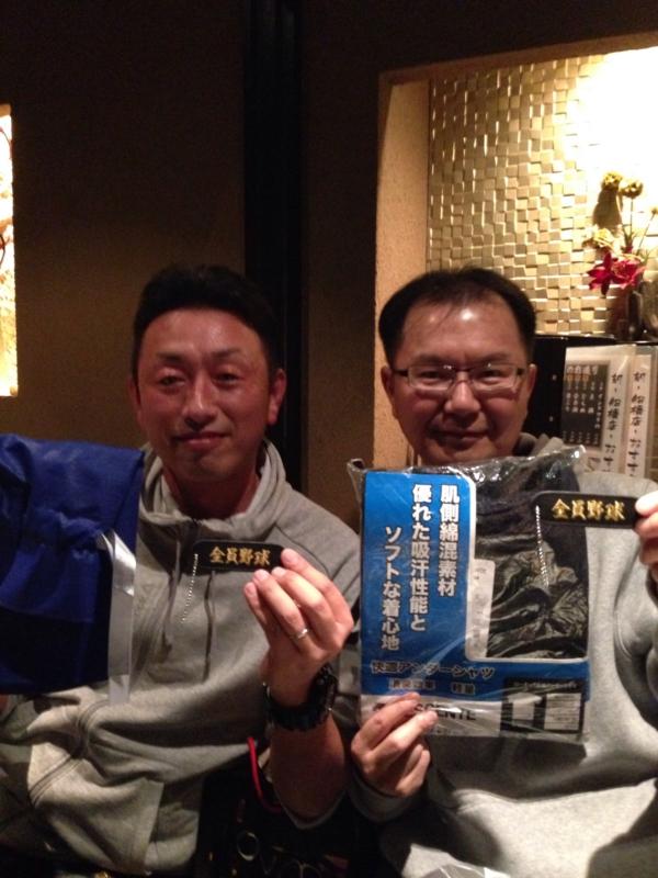 敢闘賞の馬籠代表&KOKの金子監督