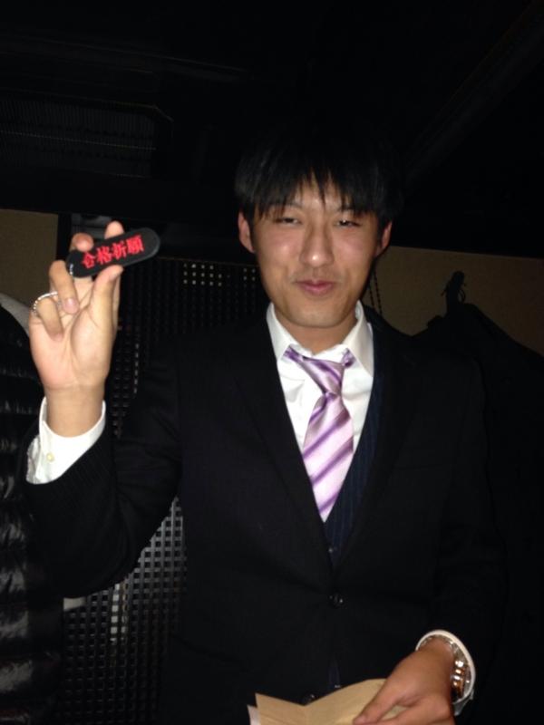 SGH賞の原選手