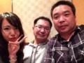 浅野マネ、金子監督、高橋選手