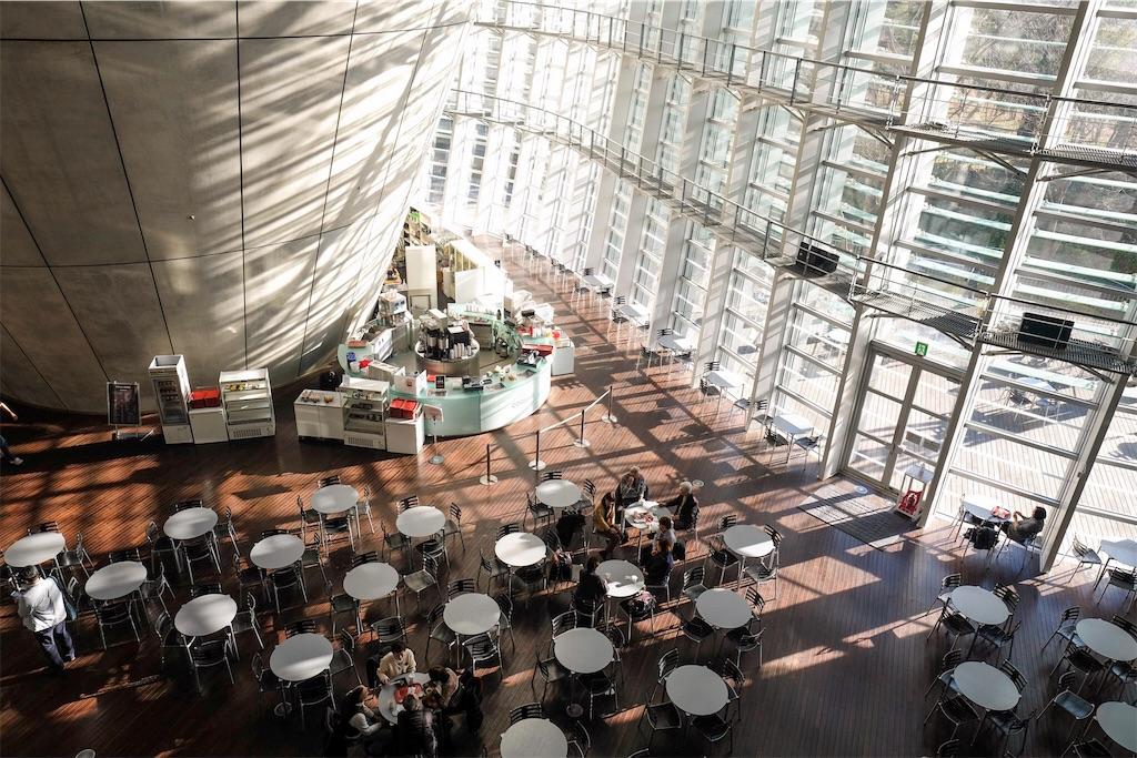 ライカとフジと国立新美術館の画像