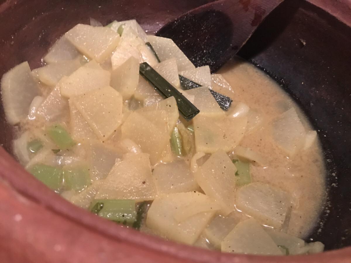 【スリランカ料理】大根のキラタ(ココナッツ煮)のレシピ【スリ飯屋Malanka】