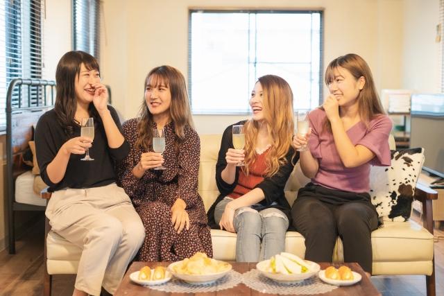 女の子のパーティ
