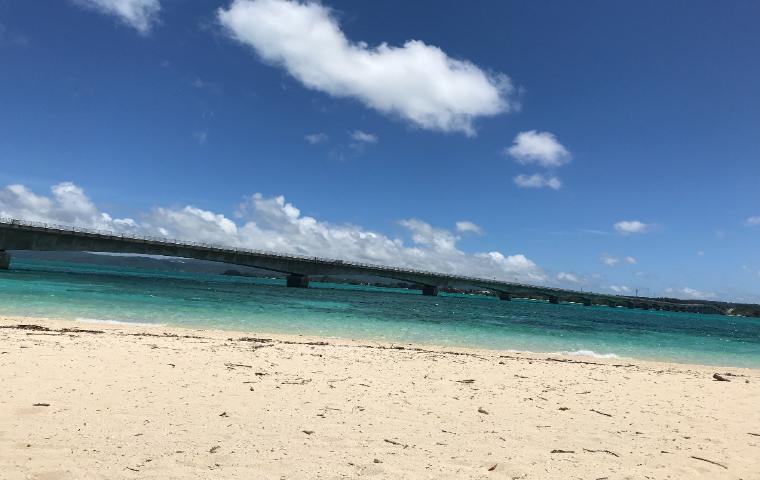 沖縄のビーチ 塩川ビーチ