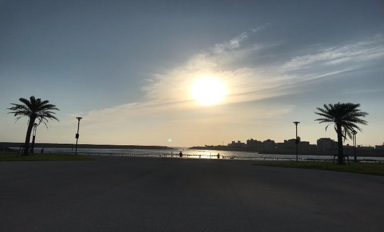 沖縄の夕日 1