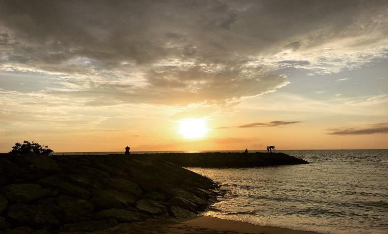 沖縄の夕日 2