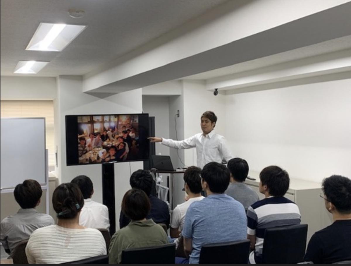 月に1回東京でセレブエンジニアサロンの講師スタッフ、受講生が集まる勉強会を開催
