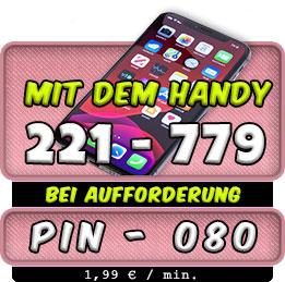 Kurzwahl Nummer für Handy Telefonsex mit Oma